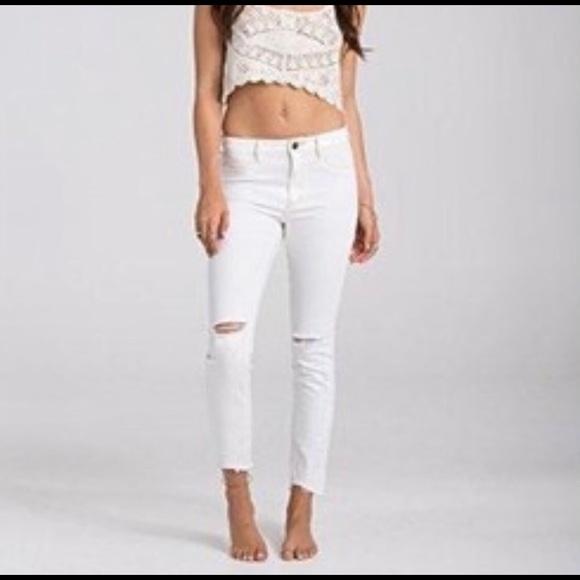 1a98fab15e1f8 Billabong Jeans | Hot Mama Raw White | Poshmark